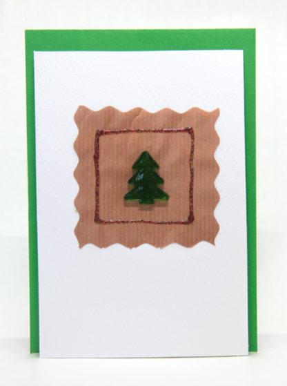 A handmade greeting card especially for Christmas